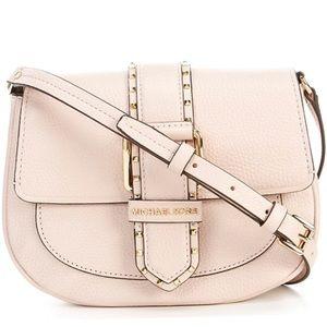 Michael Kors Bags - NWT Michael Kors Light Pink Buckle Crossbody